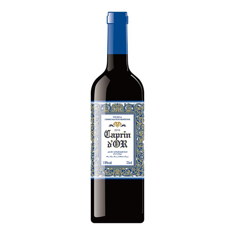 金羊甄藏干红葡萄酒750ml