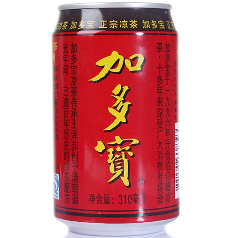 加多宝茶饮料310ml